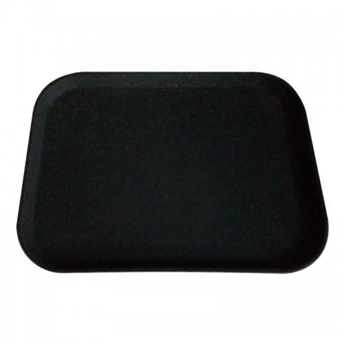 1216PT : Rectanguler Tray Non-Slip 30.5 x 41.5cm Brown/Black