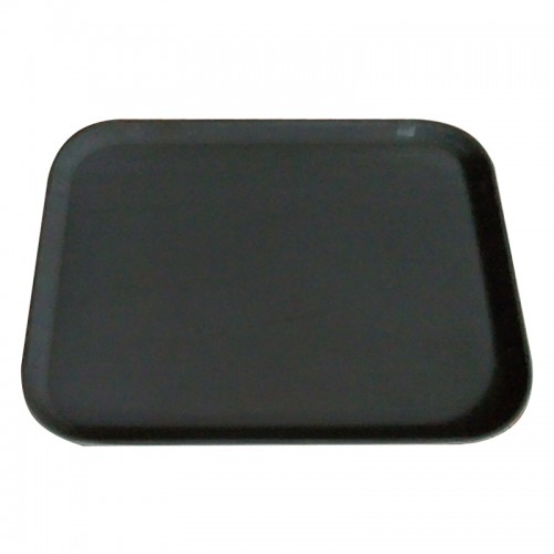 1418CT : Rectanguler Tray Non-Slip 35.5 x 46cm Black