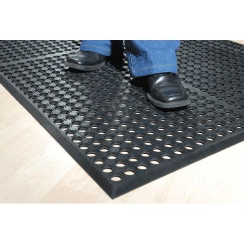 AFD-3660-BT : Antifatigue Mat,90cm x 150cm,Black