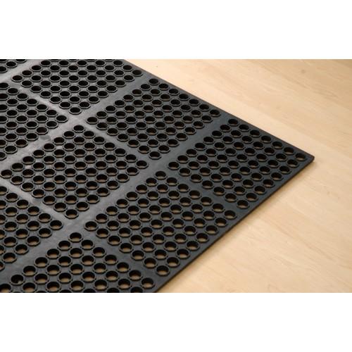 AFD-3959-BT : Antifatigue Mat,100cm x 150cm,Black