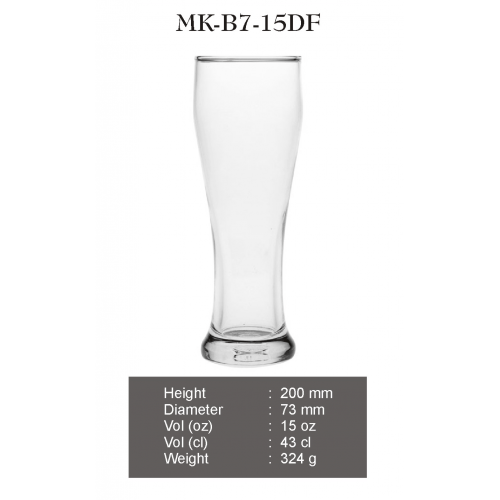 BALI  art size :   73 x 205 ,  art capacity : 410 ml , case cube  : 0.0548 cbm , case weight  : 16.59 kg , case pack : 4