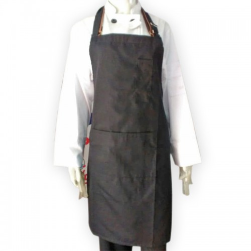 HC-BA-BLACK-2 : BIP APRON COTTON MIX BLACK 2