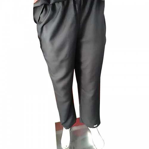 HC-CPB-B-S : Chef Pant Black Premium Cotton