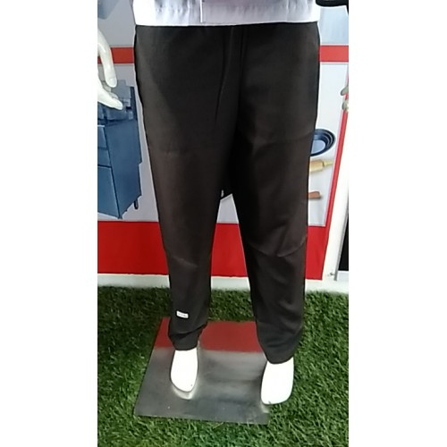 HC-CPB-B-XL : Chef Pant Black Premium Cotton