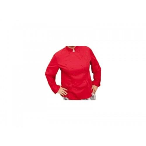 H-CSS-R-L : Chef Suit Red Standard Cotton Mix