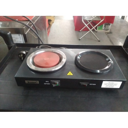 MK-3301 : Coffee Stove with one warmer and one boiler