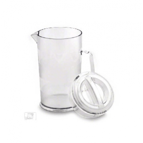 1.9L Pitcher With Cover,Clear,PC,JIWINS