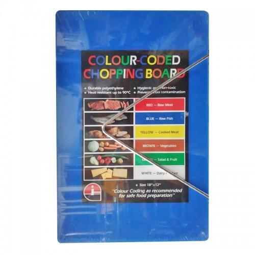 "MK-CB-520B : Cutting Board 18""X12""X1/2"" Blue"