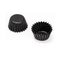 Cake Case Glassine Paper 9,5cm / Black