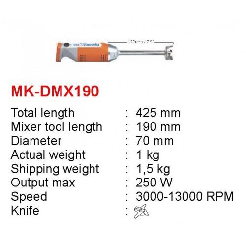 MK-DMX-190 : DYNAMIX 190 230V (E KNIFE) - CE PLUG