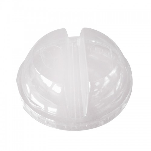 MK-EL-0007-LID : 98 MM PET DOME LID WITH HOLE 4.2g