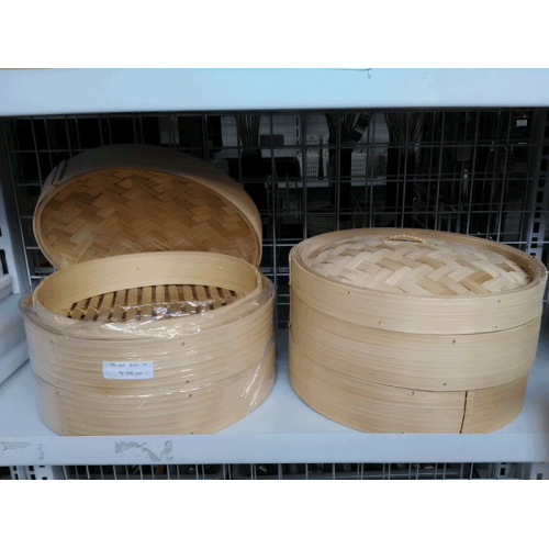 """BAMBOO STEAMER SETS  size :  12"""""""