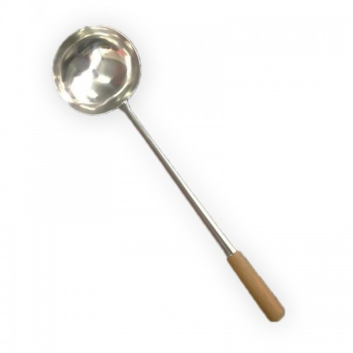 MK-JHT-SL001-15 : STAINLESS STEEL LADLE  size :  diameter 15 cm