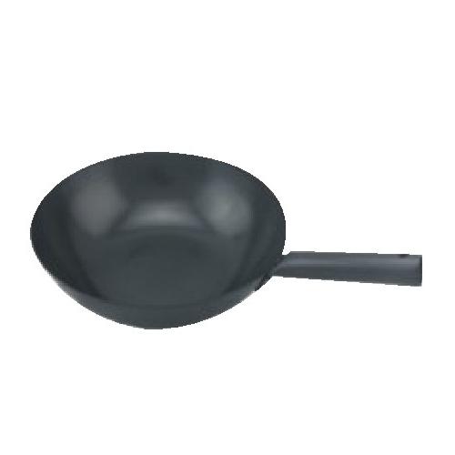 NON STICK WOK WITH SINGLE HANDLES size :  diameter 36 cm