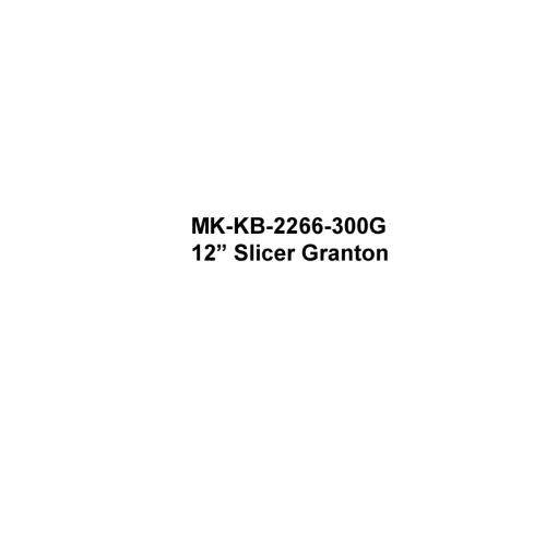 """12"""" Slicer Granton"""