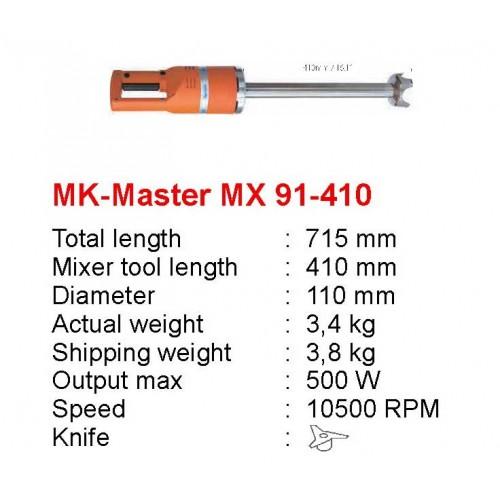 MK-MAJOR-MX-91-410 : MAJOR MIXER MX 91 230V - CE PLUG