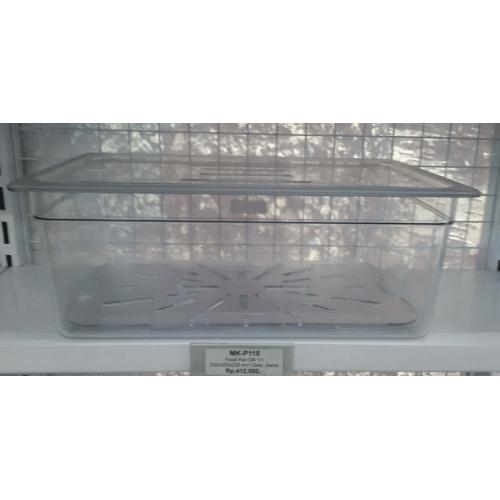 Food Pan GN 1/1,530x325x200mm Clear, JIWINS