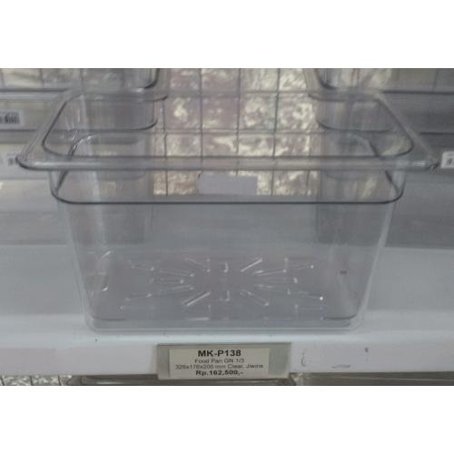 Food Pan GN 1/3, 325x176x200mm Clear, JIWINS
