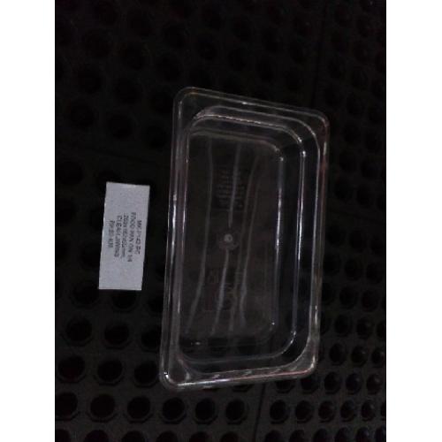 Food Pan GN 1/4, 265x162x65mm Clear, JIWINS