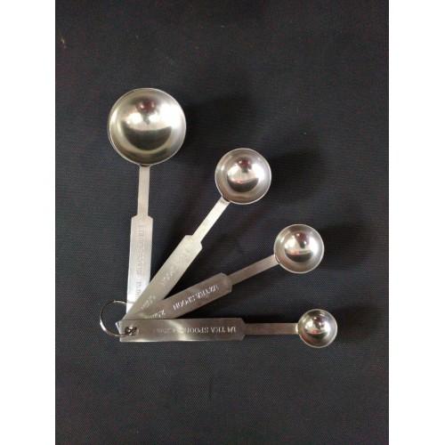 MK-SS-MS-01 : Measuring spoon set S/S 1,2 mm