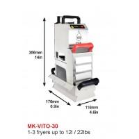 MK-VITO-30 : DEEP FRYER, 2X10L, 1-3 FRYER UP TO 12l/22lbs