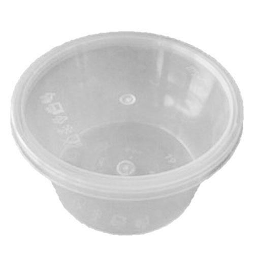 UL-16 : Round Container 118 x 65 470ml  transparan