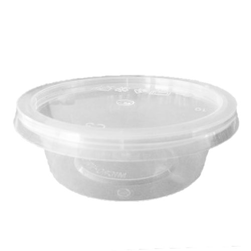 UL-2 : Round Container 75 x 25 50ml  transparan
