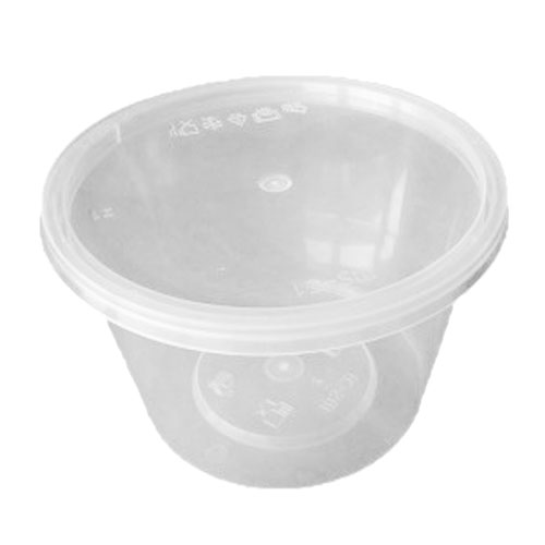 UL-20 : Round Container 118 x 75 540ml  transparan