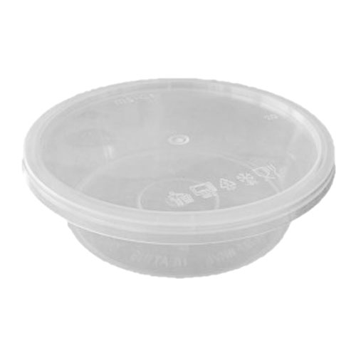 UL-225 : Round Container 118 x 34 260ml  transparan