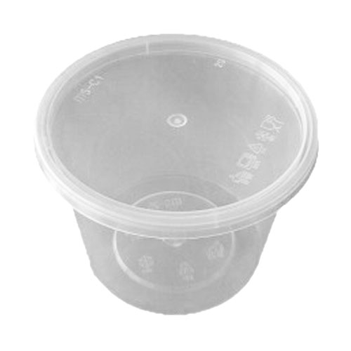 UL-25 : Round Container 118 x 88 635ml  transparan