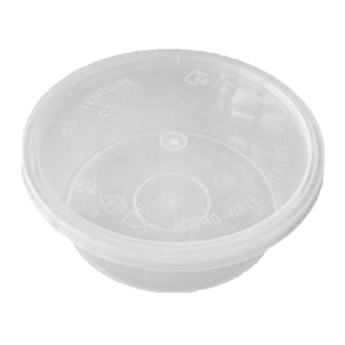 UL-250 : Round Container 118 x 42 300ml  transparan
