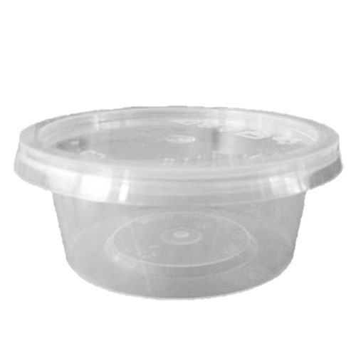 UL-3 : Round Container 75 x 30 75ml  transparan