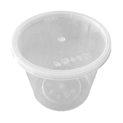 UL-30 : Round Container 118 x 102 745ml  transparan