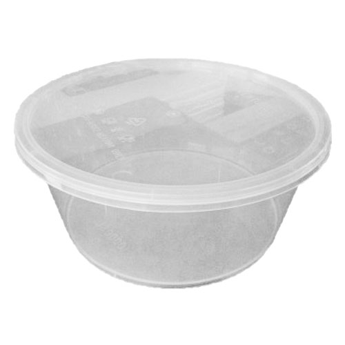 UL-3000 : Round Container 237 x 103 3000ml  transparan